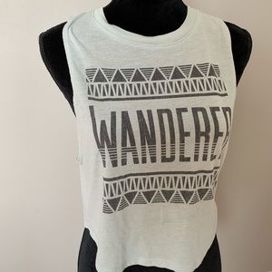 "Mint Teal ""Wanderer"" Tank Top"